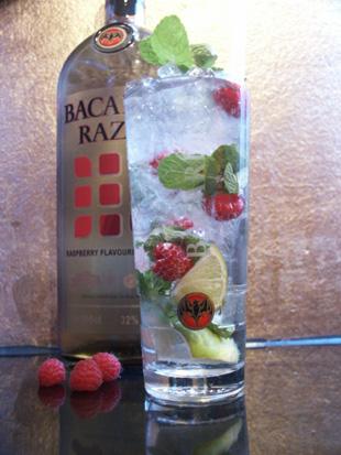 Cocktail Mojito Razz