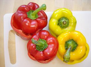 Gefüllte Paprika - Zutaten, Paprika