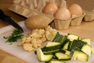 Omelette Zutaten