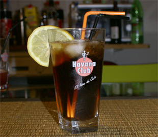 Cocktail Cuba Libre