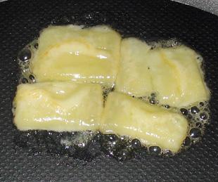 Geschmolzener Pecorino mit Honig