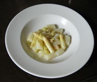 Spargel-Rhabarber-Gemüse