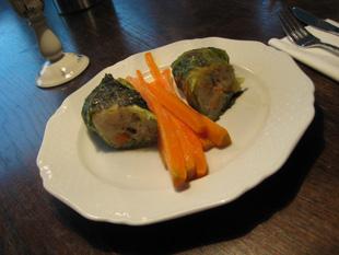 Rezept mit Bild: Vegetarische Kohlroulade