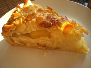 Rezeptbild - Florentiner Apfelkuchen
