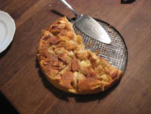 Apfelkuchen aus der Springform