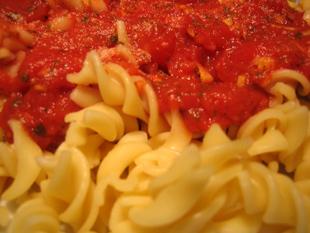 Rezeptbild - Tomatensoße mit Ingwer