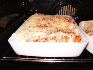 Enchiladas im Ofen