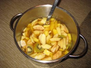 Fruchtbowle mit Rum