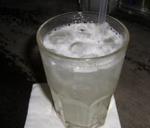 Cocktail Gin Fizz