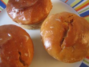 Muffins mit Joghurt und Honig