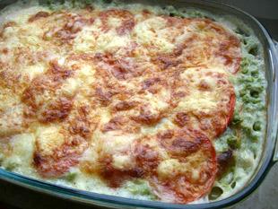 Erbsen Schinken Lasagne - Rezept Bild