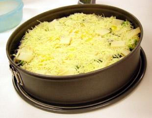 Gemüsereiskuchen mit Käse - Rezept Bild