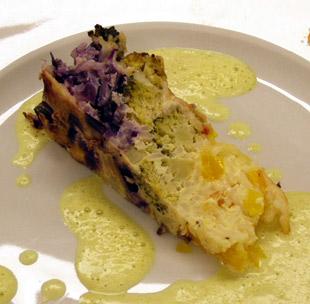 Gemüse-Reis-Kuchen - Rezept Bild