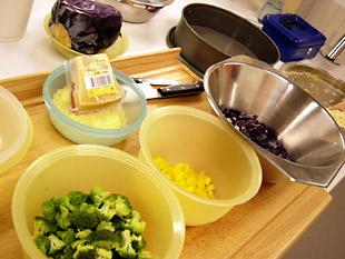 Gemüsesorten - Rezept Bild