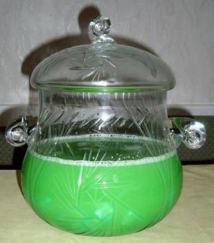 Grüne Wiese Bowle - Rezept Bild