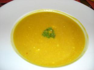 Curry Kürbissuppe - Rezept Bild