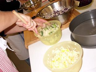 Reis und Gemüse - Rezept Bild