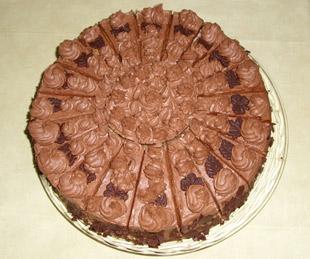 Schokoladencremetorte - Rezept Bild
