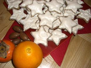 Zimtsterne an Weihnachten - Plätzchenrezept Bild