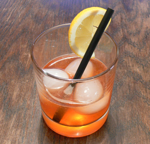 Cocktail Aperol Fizz