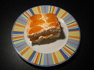 Tiramisu mit Mandarinen - Rezept Bild