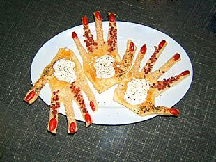 Finger-Food (wörtlich genommen)