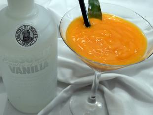 Daiquiri mit Mango und Vanillewodka