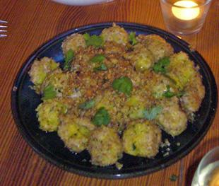 Patata Voda (Indische Kartoffelbällchen)