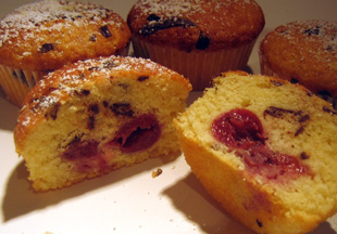 Schoko-Kirsch-Muffins
