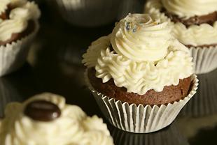 Cupcake mit Streuseln