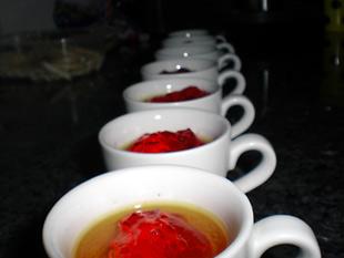 Jelly Shots Nachspeise - Rezept Bild
