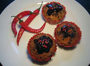 Schoko Nuss Muffins Bild