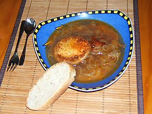 Zwiebelsuppe - Rezept Bild