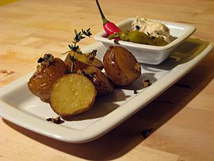 Geschmorte Ofenkartoffeln