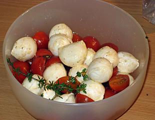 Tomaten Mozarella