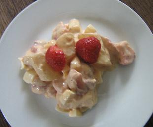Erdbeer-Spargelsalat