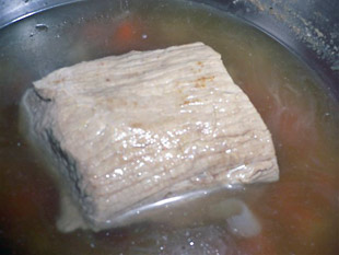 Kalbsbraten kochen