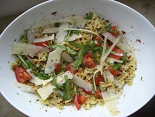 Vegetarischer Nudelsalat