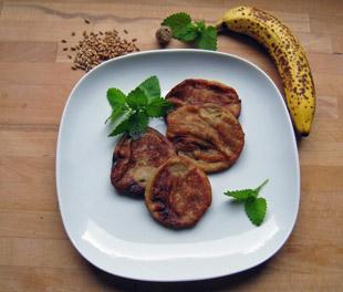 Afrikanische Bananenküchlein