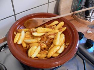Kartoffeln zugeben