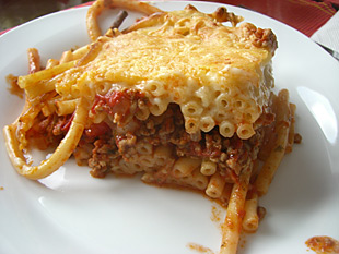 Pastizio - Griechischer Nudelauflauf