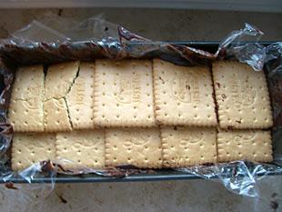 Kekse und Schokolade