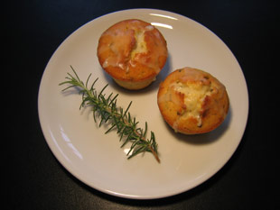 Orangen-Rosmarin-Muffins