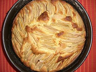 Birnenkuchen mit Ingwer