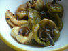 Eingelegte gegrillte Paprika