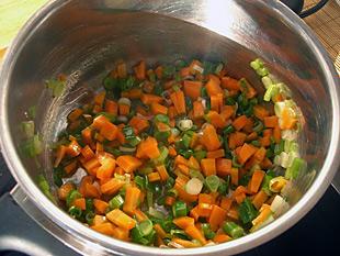 Gemüse andünsten
