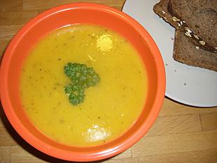 Kürbissuppe aus dem Ofen