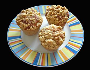 Streuselkuchen Muffins