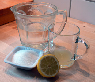 heißes wasser mit zitrone abnehmen
