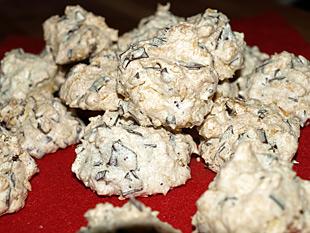 Kokosmakronen mit Schokosplitter